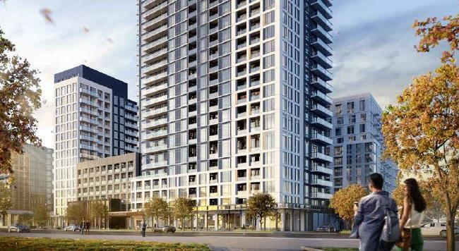The Thornhill in Vaughan is a new master-planned condo community coming this fall! Image